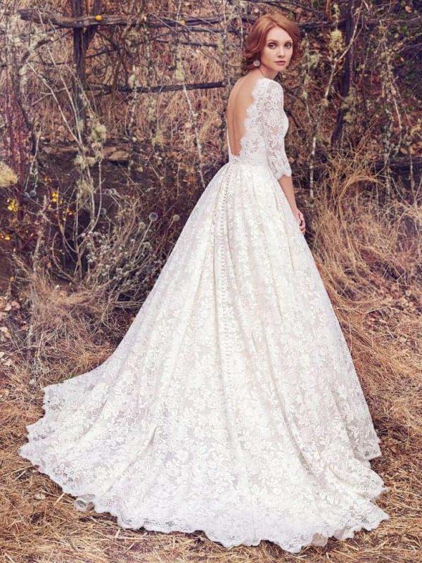 Cordelia brudklänning