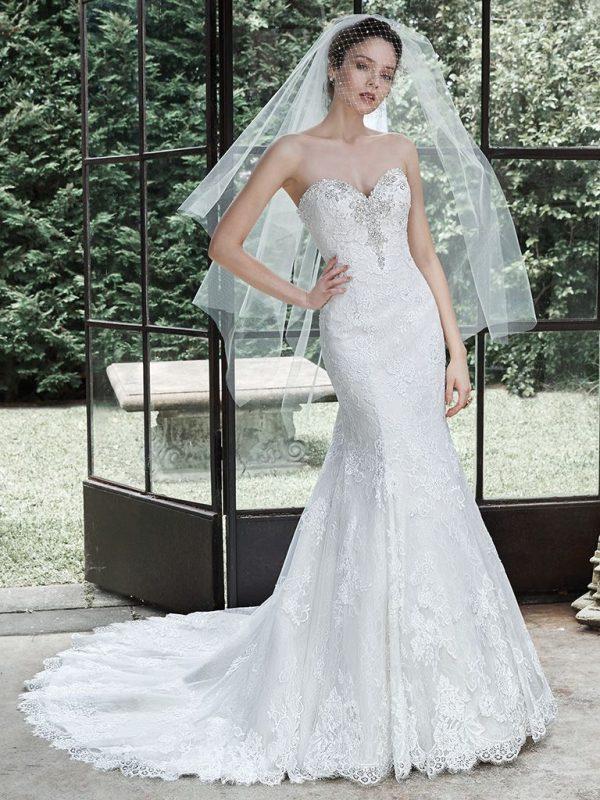 Bröllopsklänning Maggie Sottero AMAROSA -REA