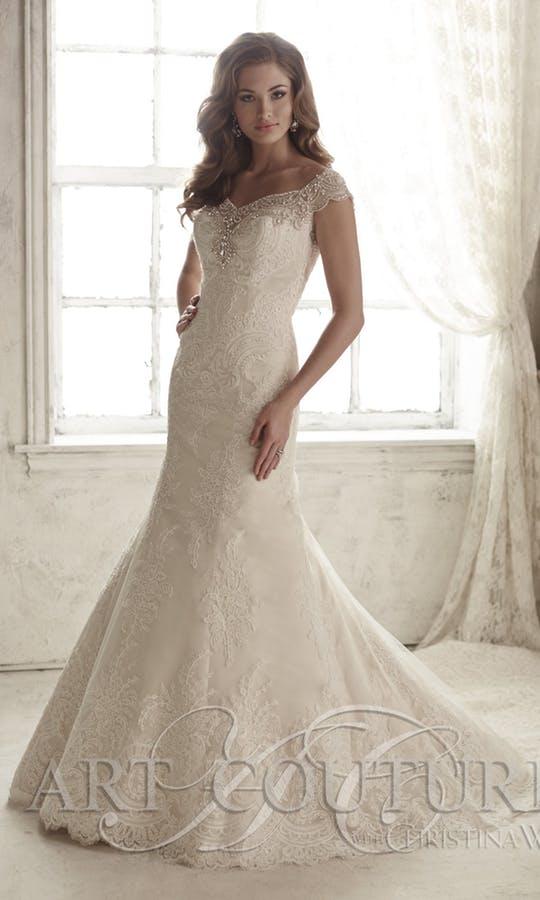 Bröllopsklänning AC446
